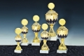 Goldpokale farbig - Pokal Serie Anny